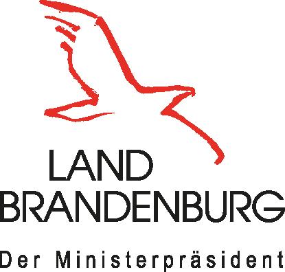 Gefördert mit Mitteln des Ministerpräsidenten des Landes Brandenburg.